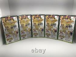 Vintage mighty morphin power rangers 1993 Triangle Box Set Of Five Action Figure